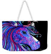 Rainbow Spotted Horse2 Weekender Tote Bag