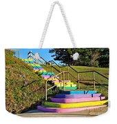 Rainbow Steps Weekender Tote Bag