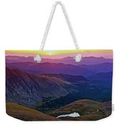 Rainbow Sunrise Weekender Tote Bag