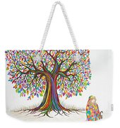 Rainbow Tree Dreams Weekender Tote Bag