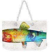 Rainbow Trout Art By Sharon Cummings Weekender Tote Bag