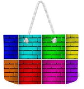 Rainbow Walls Weekender Tote Bag