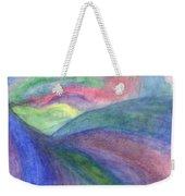Rainbow Way Weekender Tote Bag