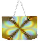 Rainbows Abstract Weekender Tote Bag