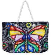 Rainbows And Butterflies Weekender Tote Bag