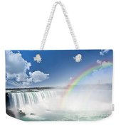 Rainbows At Niagara Falls Weekender Tote Bag