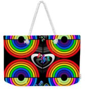 Rainbows End Weekender Tote Bag