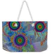Rainbows In Flowers  Weekender Tote Bag