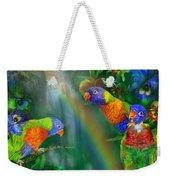 Rainbows In Paradise Weekender Tote Bag