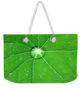 Raindrop Junction Weekender Tote Bag