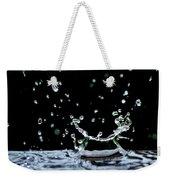 Raindrop Weekender Tote Bag