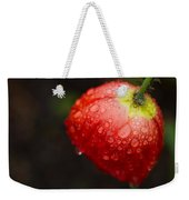 Raindrops And Poppy Weekender Tote Bag