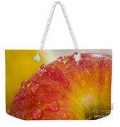 Raindrops On An Apple Weekender Tote Bag