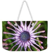 Raindrops On Daisy Square Weekender Tote Bag