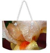 Raindrops On Orange Iris Weekender Tote Bag