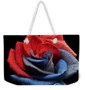 Raindrops On Rose Weekender Tote Bag