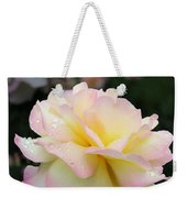 Raindrops On Rose Petals Weekender Tote Bag