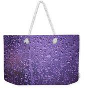 Raindrops On Window II Weekender Tote Bag