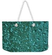 Raindrops On Window Iv Weekender Tote Bag
