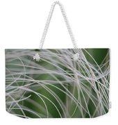Rainforest Palm Tree Leaf Close Up  Weekender Tote Bag