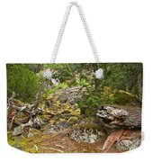 Rainforest Rock Slide Weekender Tote Bag