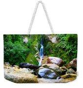 Rainforest Stream New Zealand Weekender Tote Bag
