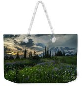 Rainier Abundance Of Flowers Weekender Tote Bag