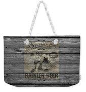 Rainier Beer Weekender Tote Bag
