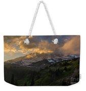 Rainier Evening Skies Drama Weekender Tote Bag