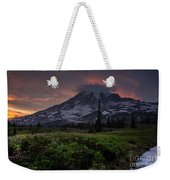 Rainier Fire Mountain Weekender Tote Bag
