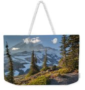 Rainier From Paradise Glacier Weekender Tote Bag
