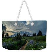 Rainier Meadows Thunder Skies Weekender Tote Bag