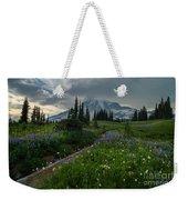 Rainier Meadows Wandering Weekender Tote Bag