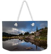 Rainier Spray Park Reflection Weekender Tote Bag