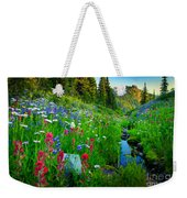 Rainier Wildflower Creek Weekender Tote Bag