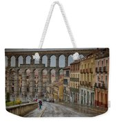 Rainy Afternoon In Segovia Weekender Tote Bag