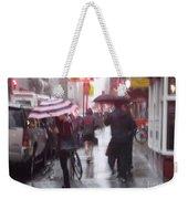 Rainy Corner - New York City Weekender Tote Bag