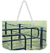 Rainy Day At The Sea Front Weekender Tote Bag