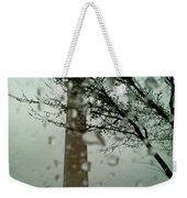 Rainy Day At The Washington Monument Weekender Tote Bag