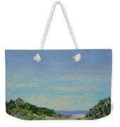 Rainy Day Beach Blues Weekender Tote Bag