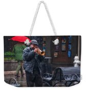 Rainy Day Blues New Orleans Weekender Tote Bag