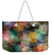 Rainy Day Christmas Weekender Tote Bag