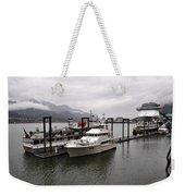 Rainy Day Dock Weekender Tote Bag