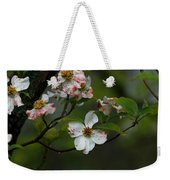 Rainy Day Dogwood Weekender Tote Bag