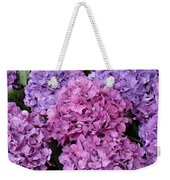 Rainy Day Flowers Weekender Tote Bag