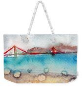 Rainy Day In San Francisco  Weekender Tote Bag