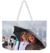 Rainy Day In The Big City Weekender Tote Bag