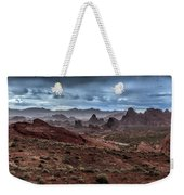 Rainy Day In The Desert Weekender Tote Bag