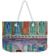 Rainy Day In Venice Italy Weekender Tote Bag