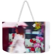 Rainy Day Kitty Weekender Tote Bag